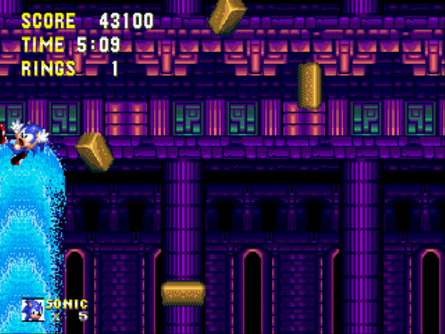 Sonic the Hedgehog 3 - Misc  - high scor - User Screenshot